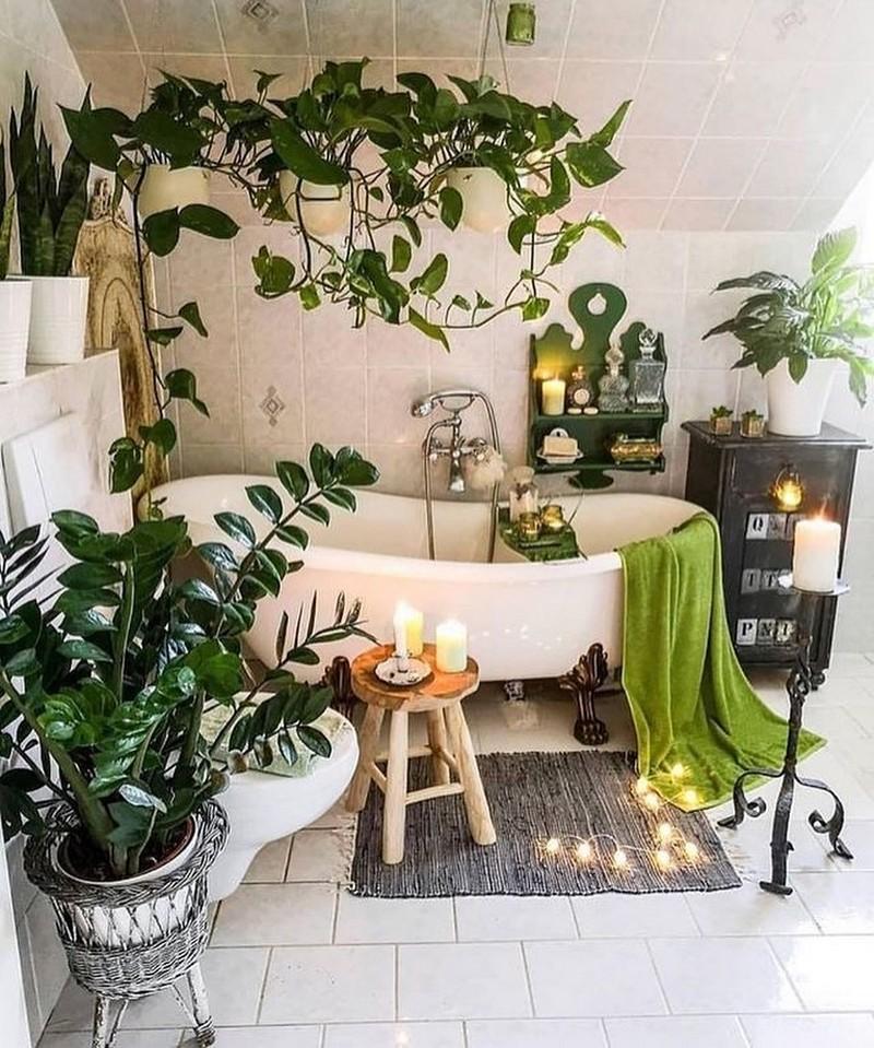 Bohemian Bathroom Decor Design (2)