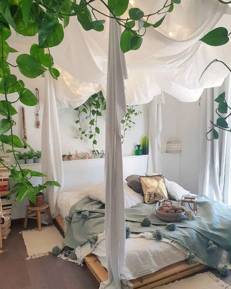 Bohemian Bedroom Decor Ideas (22)
