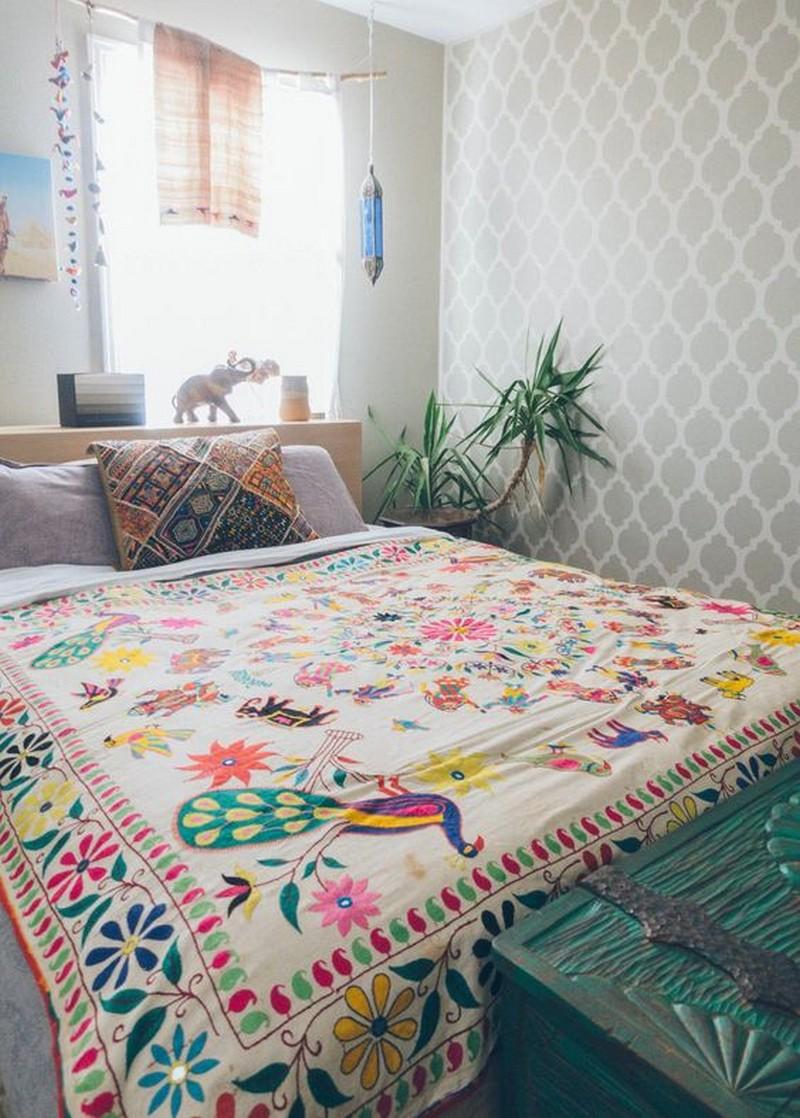 Bohemian Bedroom Decor Ideas (23)