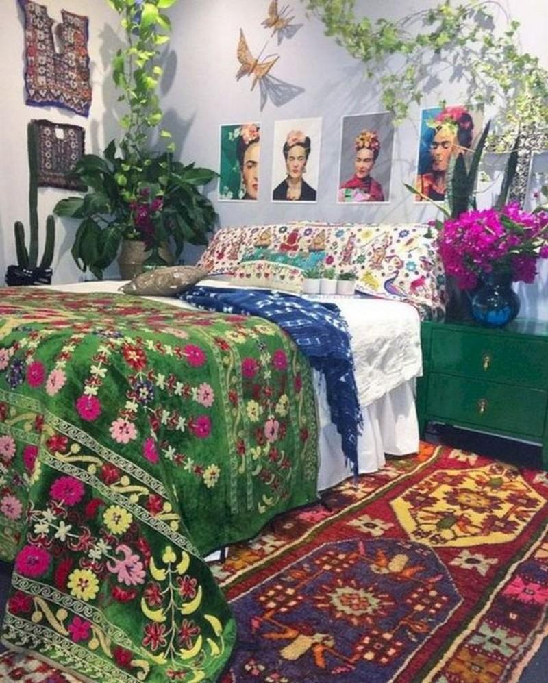Bohemian Bedroom Decor Ideas (29)