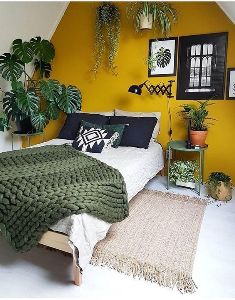 Bohemian Bedroom Decor Ideas (6)