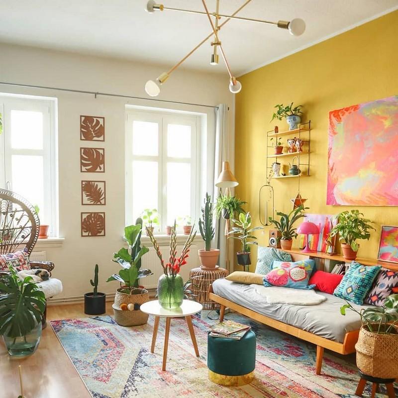 Bohemian Home Decor Ideas (45)