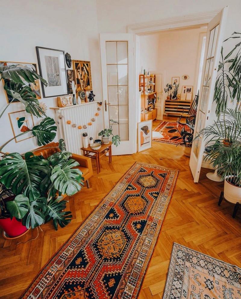 Bohemian Home Decor Ideas (63)